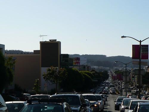 Lombard Fleet Week Traffic