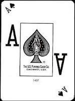The disputed 'Poker Peek' Cards