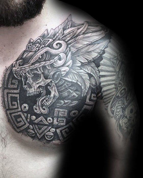 Chest Cover Up Tattoo Ideas For Men Tattoo
