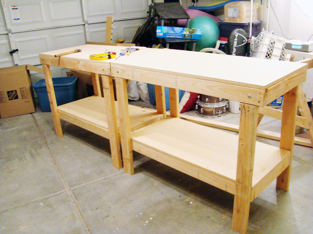How To Build A Workbench - Concord Carpenter