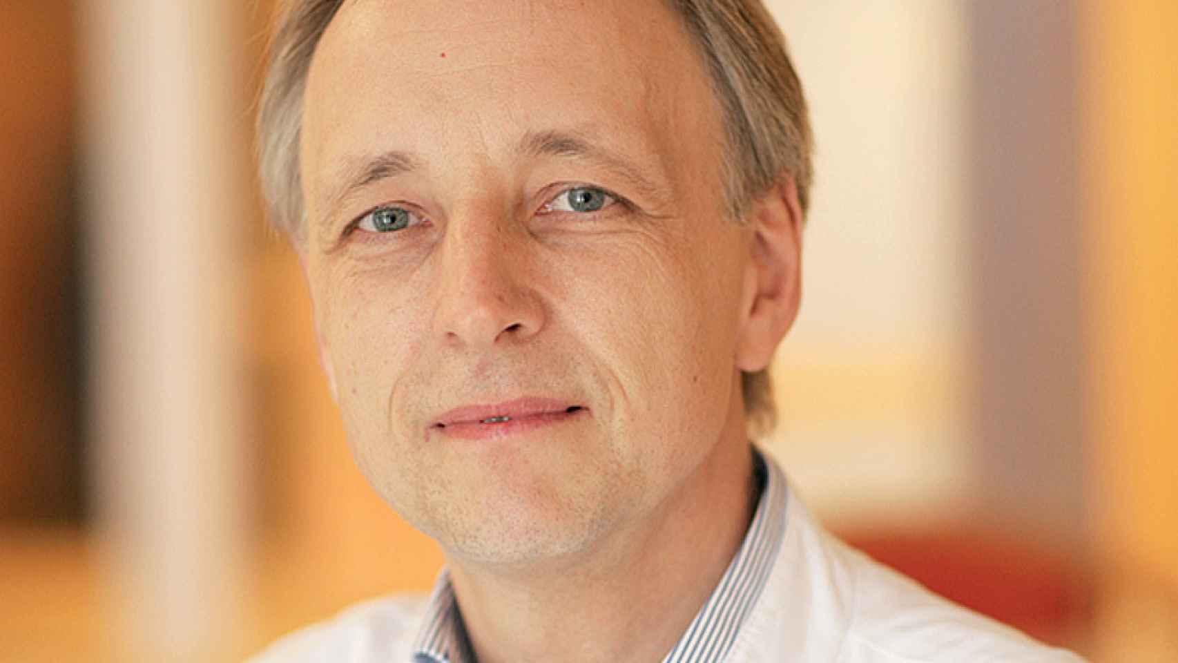 Mathias Girke. Es representante del grupo de la antroposofía en España.