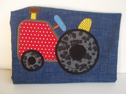 Tractor embroidery/applique