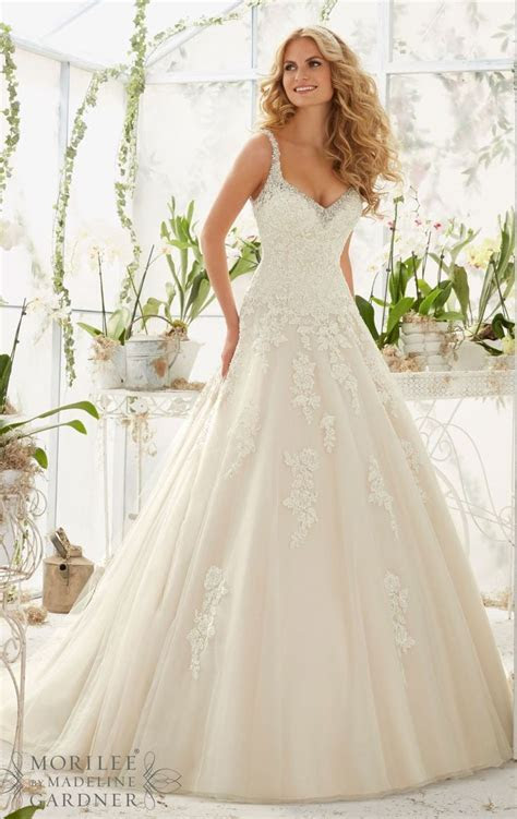Mori Lee 2811 Dress   MissesDressy.com   wedding dress