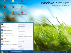 O visual do Windows 7 no seu XP - Sem precisar de WindowBlinds!