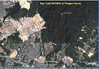 GoogleEarth Map of WangsaCheras Hill