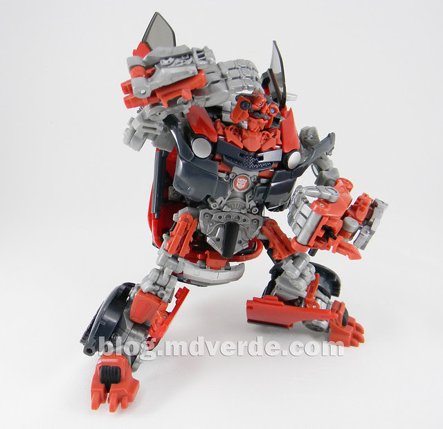Transformers Mudflap RotF Human Alliance - modo robot