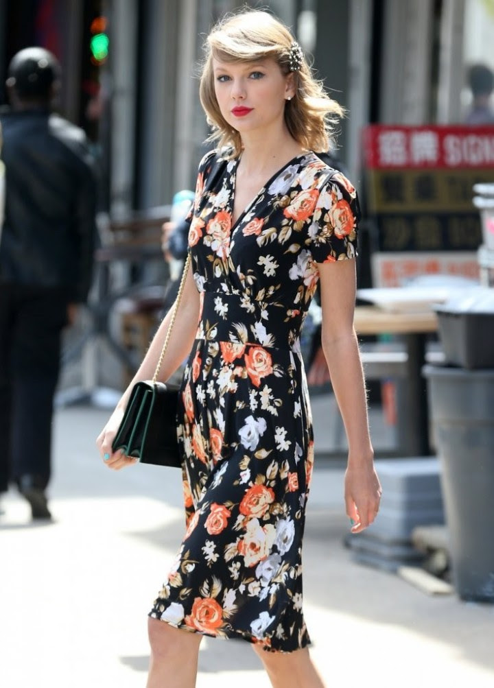 Taylor Swift – out in NYC -04