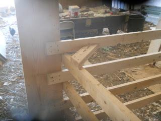 Second Barn Stall Side Cross Brace