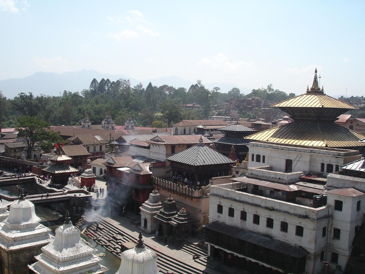 The Pashupatinath Temple, Kathmandu, Nepal