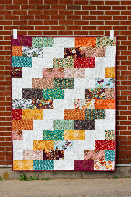 Side Braid Quilt Pattern - Big Braid
