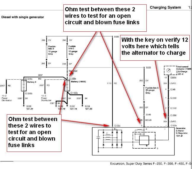8 Liter Gm Alternator Wiring