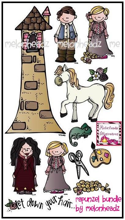 Rapunzel combo pack