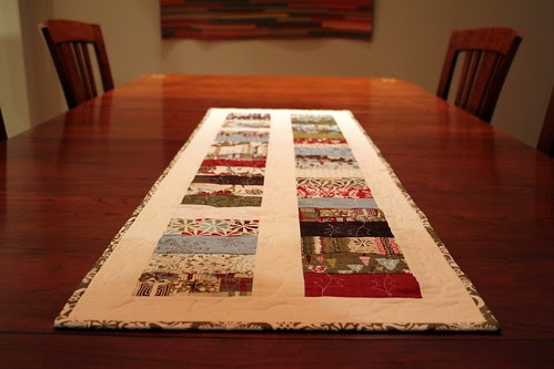 Modern Quilting By B Christmas Table Runner