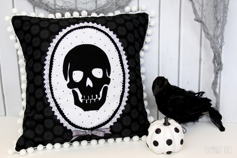 DIY Skeleton PIllow