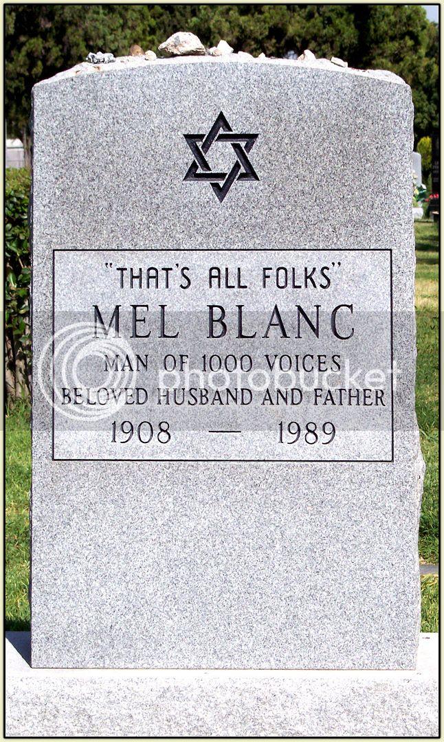Mel Blanc's Resting Place