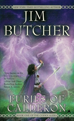 Book Review: Furies of Calderon (Codex Alera, Book 1), By Jim Butcher Cover Art