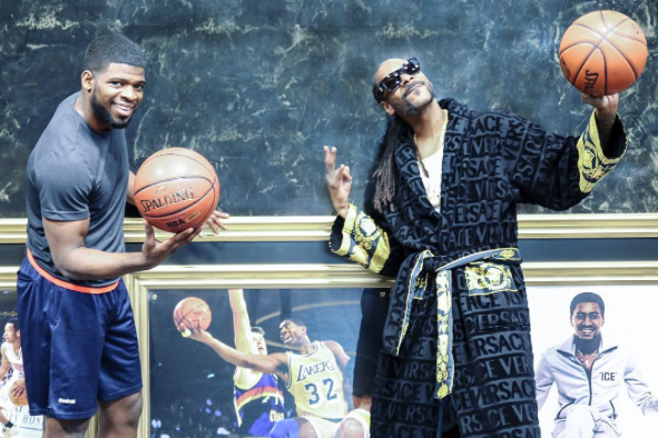 P.K. Subban et le rappeur Snoop Dogg... (Photo tirée d'Instagram)
