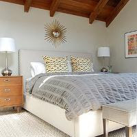 sunburst-mirror-over-bed - Design, decor, photos, pictures, ideas ...