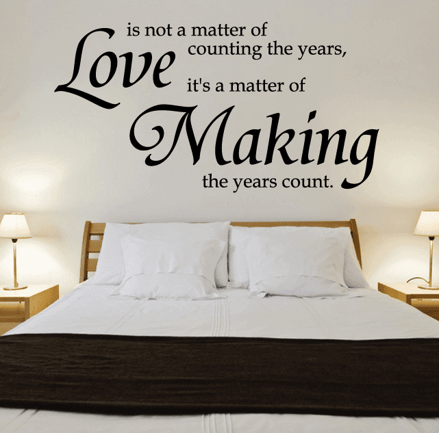 Pics For \u0026gt; Bedroom Wall Decals Quotes