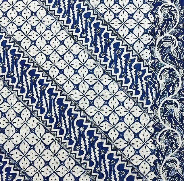 Motif Batik Parang Biru - Batik Indonesia