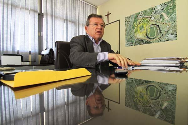Demétrio Torres, secretário extraordinário para assuntos relativos à Copa do Mundo