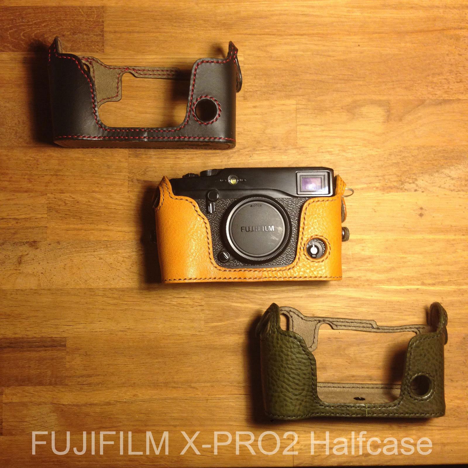 Xpro2 half case  Fuji XPro2 Kenjileather camera case