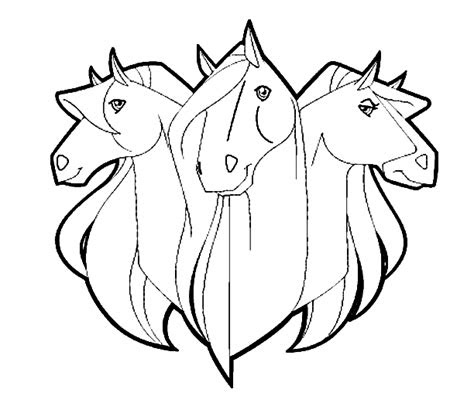 horse coloring pages picgifscom