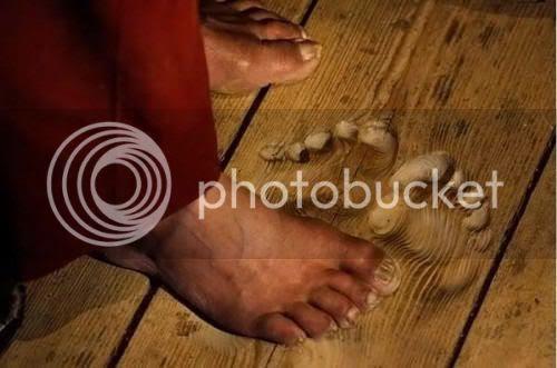 foot monk China