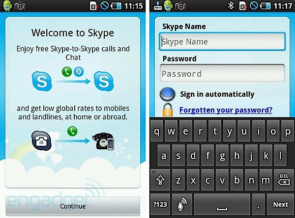 Android Skype update brings ability to run to SD, Galaxy S compatibility, but with a big catch