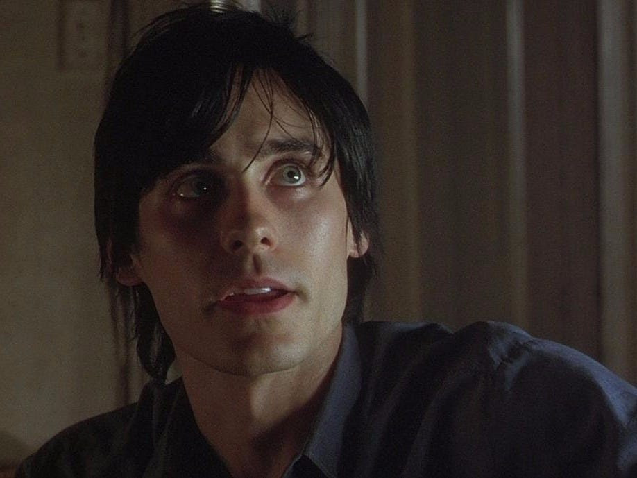 "He auditioned for the role of a disillusioned, heroin-addicted Brooklynite ""about 6,000 times,"" Leto jokes. ""Requiem for a Dream was an incredibly important film for me."""