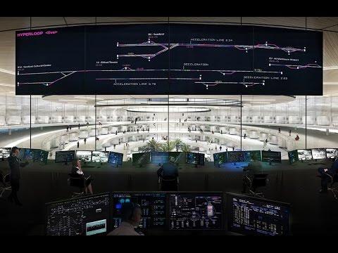Vídeo mostra como seria viajar no trem que anda a 1.200 km/h