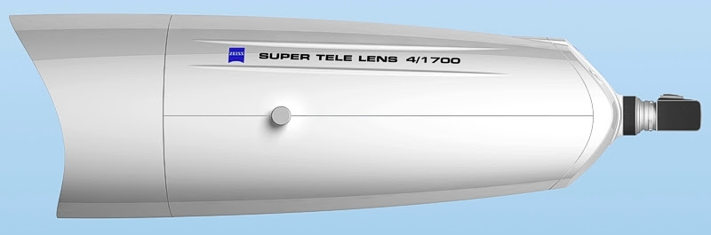 zeiss 1700mm f4 lens The largest telephoto lens in the world is not a Leica