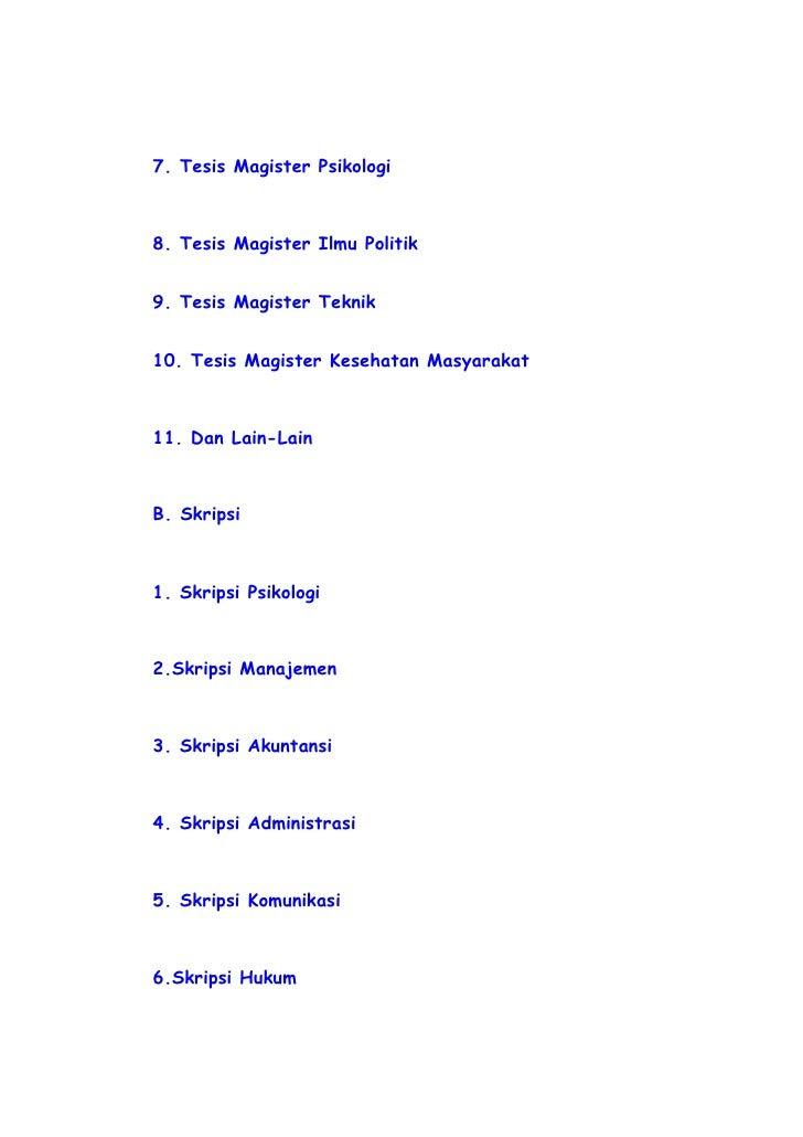 judul tesis hukum pidana Daftar seluruh judul skripsi hukum ada 176 judul kebijakan hukum pidana dalam menanggulangi terjadinya tindakan pelecehan kategori tesis administrasi.