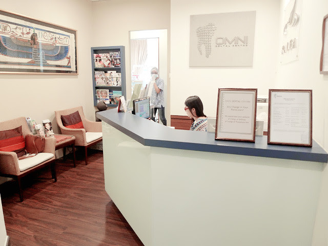 omni dental centre tour reception