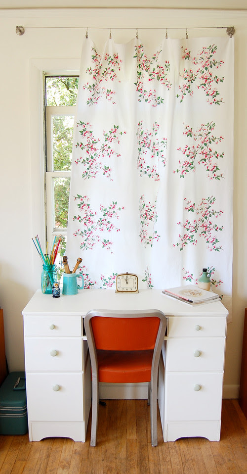 summer lounge eclectic home office