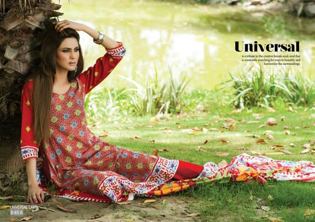Sitara-Universal-Exclusive-Summer-Latha-Lawn-Collection-2013-Vol2-Famous-Actress-Model-Fiza-Ali-