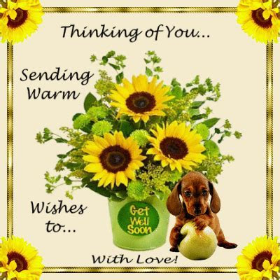 With Warm Wishes To  Free Get Well Soon eCards, Greeting