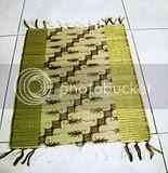 Placemat Mendong Batik Emas 2