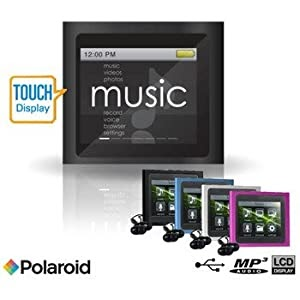 how to put videos on polaroid mp3 player