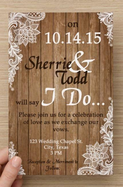 country wedding invitations best photos   Cute Wedding Ideas