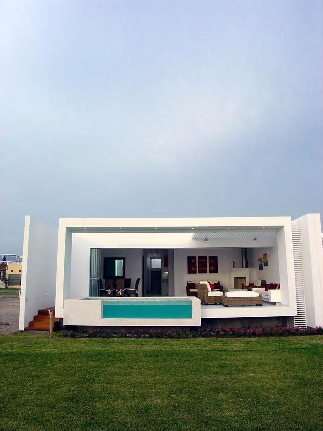 Casa frente al mar jos orrego arquitecto tecno haus - Casas en el mar ...