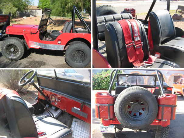Willys Jeep Truck Parts