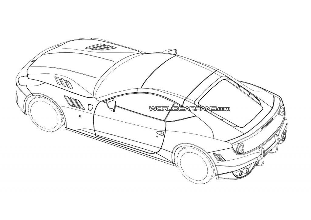 2015 Ferrari California Replacement Patent Drawings Leaked?