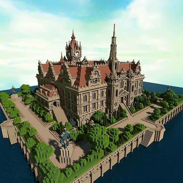 Renaissance Palace - Minecraft Building Inc
