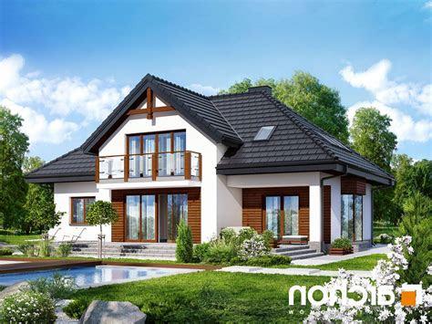 projekt domu jednorodzinnego dom  kalateach  ver