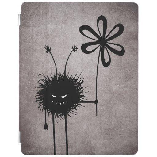 Evil Flower Bug Vintage iPad Cover