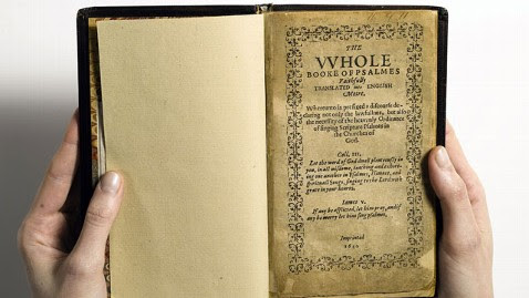 ht bay psalm book nt 130412 wblog Holy Grail of Rare Books, Hymnal Could Fetch $30M