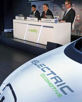 El prototipo de modelo eléctrico de Seat.