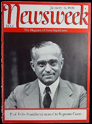 Cover of the January 16, 1939 issue of Newswee...