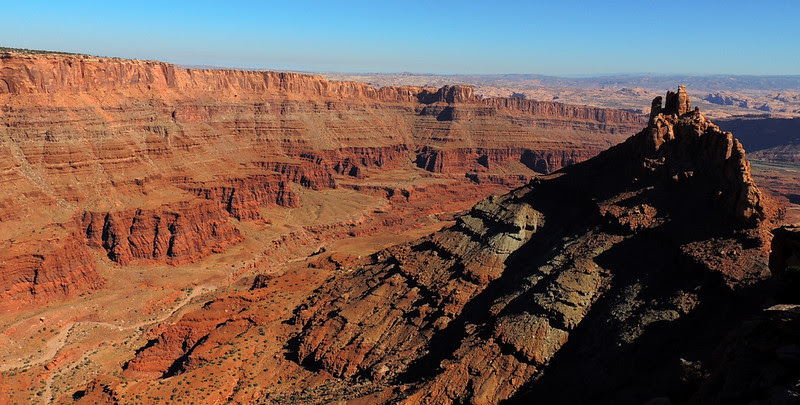 Big Chief Trail, Intrepid Trail System, Dead Horse Point State Park, Utah